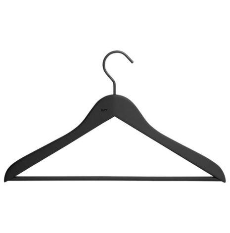 Soft Coat Hanger-pinne 4-pack svart