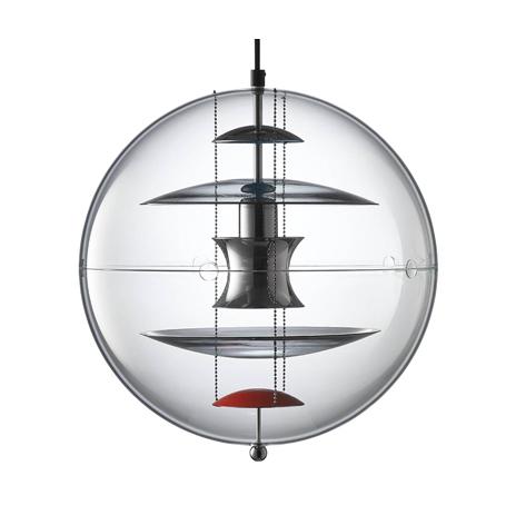 VP Globe coloured glass