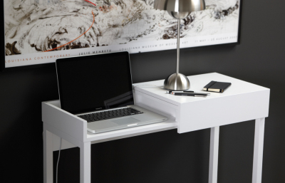 Hidden Laptop Table